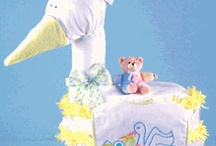 Diaper Cakes / by Stork Baby Gift Baskets