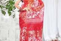 Jamdani Sarees CBA-1005