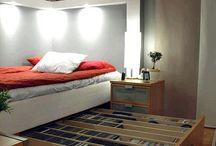 bedroom downstairs storage
