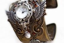 Steampunk, goth, vintage