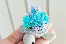polymerové želvičky