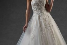 Bonny Bridal Essence / Modern shapes, intricate hand beading and unique lace create our finest couture  http://bonny-bridal.co.uk/collection/essence/