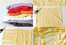 Вязание из футболок