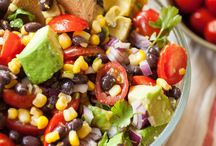 Salades d'haricots