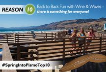 Spring Into Pismo Top 10 / by Pismo Beach