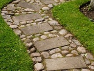 Garden - Paving and path