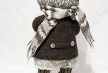 fieltro / técnica con lana