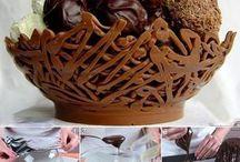 coppe di cioccolato