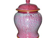 CLAY - boxes, jars, pots / jars, pots and boxes