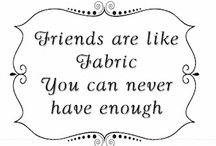 Sew Inspirational! / Phrases, sayings and such