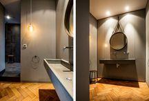 BESPOKE @ Loft Neuhausen / München / Ein Projekt, das unserer Philosophie genau entspricht: Rohe Materialien wurden mit feinen Details kombiniert, alt mit neu verbunden und mit Farbe Akzente gesetzt, die der Wohnung einen selbstbewussten, modernen Ausdruck verleihen.