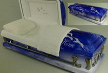 Art Themed Caskets / Discount prices on art themed caskets available to the public. http://www.thecasketstore.com