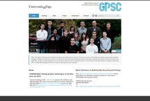 GPSC / GPSC es una colaboración de desarrollo con la empresa gallega Enyiris en la creación de una web para la Universidad de Vigo. En el portal hay varias secciones informativas sobre la entidad e información sobre la plantilla de docentes.  La web ha sido desarrollada usando el CMS Drupal 7 y hemos colaborado en la maquetación y programación de diversas funcionalidades.