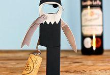 corkscrew / wine