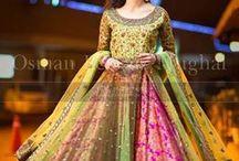 sangeet reception dresses