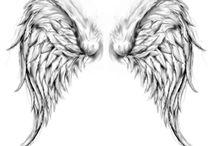 Tetování křídla
