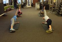 Studio Fitness Workout / Clients at Studio Fitness getting their work in!!