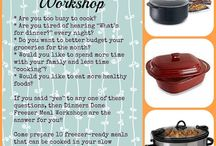 Pampered Chef Dinners done stuff