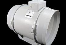 potrubní ventilátory Dalap AP / profesionální plastové potrubní ventilátory Dalap AP