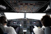Dans les avions