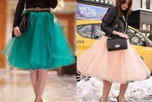 faldas tul de modas