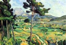St .Victoire by Paul Cezanne