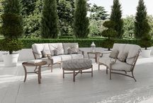 Sonesta Collection / Incorporating cast and extruded aluminum and a decorative medallion back design, the CASTELLE SONESTA collection is a traditional seating design. Strong curving arms complement the back and leg supports in the design. The Sonesta delivers durability and elegance.