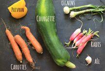légumes cru