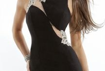 Little Black Dress / Here are short black dresses perfect for Halloween Party.