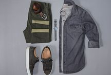 Outfit Grids & Flatlays for Men - Styles of Man / Men's fashion, outfit grids, flatlays, style, menswear, business casual, streetwear, clothing, shoes, boots