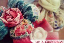 DIY : Fabric Flower