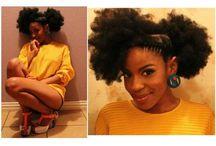 Hot Natural Hair  / by Zandra Rudolph