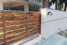 Gate / Edel Wood Used in Gate