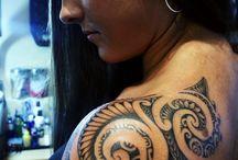Полинезийские татуировки