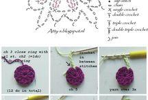 Punto de crochet / Chals