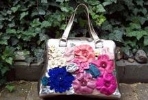 Handbags -made by me ;   Posete,genti realizate de mine