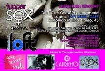 Evento Loft Almeria / Desfile 10 de octubre. Preparativos.