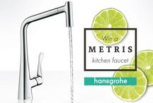 #ZestUpYourKitchen / We brought our shower technology into the kitchen! Whether it's the sleek design, the ergonomic handle or its two jet types, there's no question that our Metris Kitchen Faucet is what you need to #ZestUpYourKitchen! Starting today, we are giving away 5 of them. Enter now (throught August 15) for a chance to win