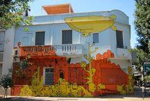 graffiti & streetart / Graffiti & Streetart, Paste Ups, Stickies, Kacheln, Styrocuts, Stencils