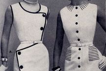 Vintage Fashion & Sewing / vintage fashion design and sewing patterns