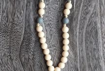 Sugarplum Teething Necklaces / Stylish teething necklaces for Moms to wear. BPA Free, Non Toxic, Food Grade Silicone