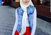Hijab Out of The Day
