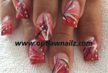 4th of July Nails / Independence day inspired nails