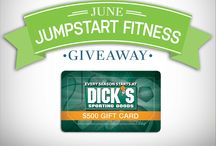 June Jumpstart Fitness Giveaway! / The countdown to summer has begun. You want to shape up. Fletcher Allen wants to help. That's why we've created the June Jumpstart Fitness Giveaway. It's a great way to get free stuff, while you get fit. #JuneJumpstart