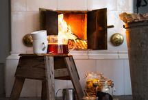 simple, cozy, primitive