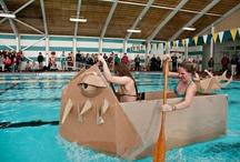 Cardboard boats / by Jennifer McCormick Symes