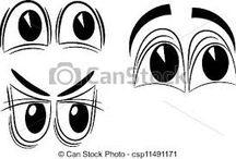 części twarzy