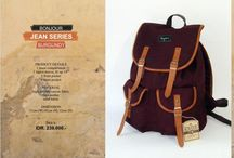 Vintage Backpack / fashionable backpack
