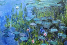 Impressionist paintings: Monet's Water Lilies