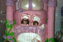 Children cakes / kinder taarten / www.facebook.com/DanasSweetyliciousCakes